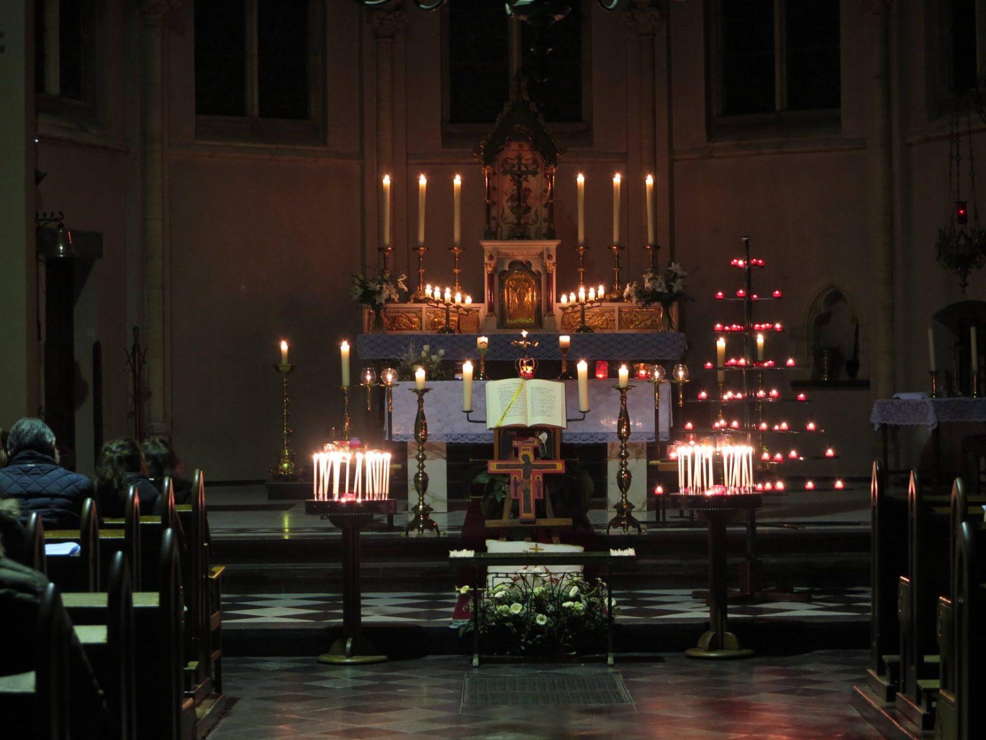 Taizéviering op vrijdag 25 oktober a.s. om 19:00 uur in onze H. Michaël kerk Heugem. Na afloop is er koffie en thee.