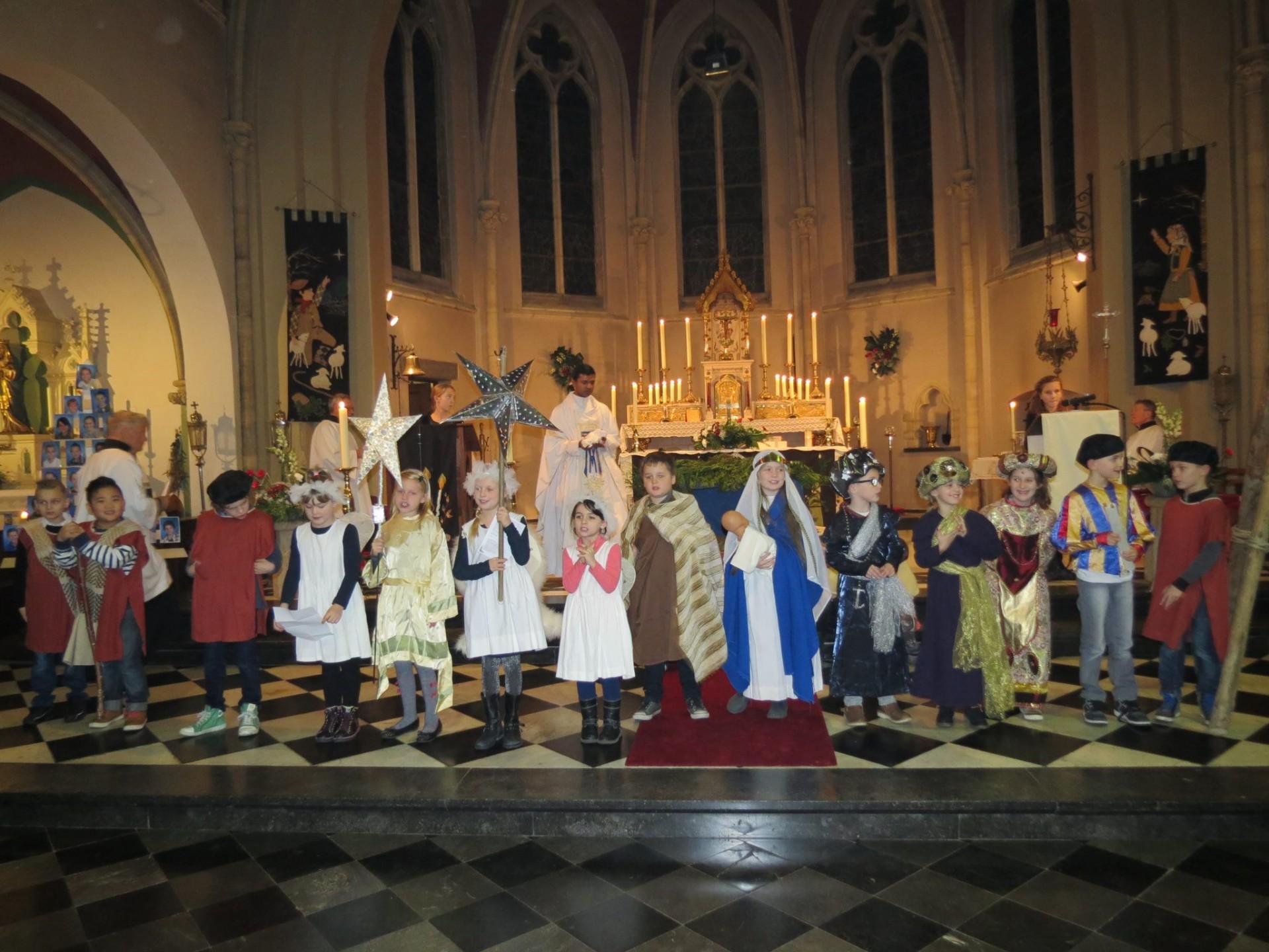 Kerstviering in Walburga Kerk Amby Maastricht