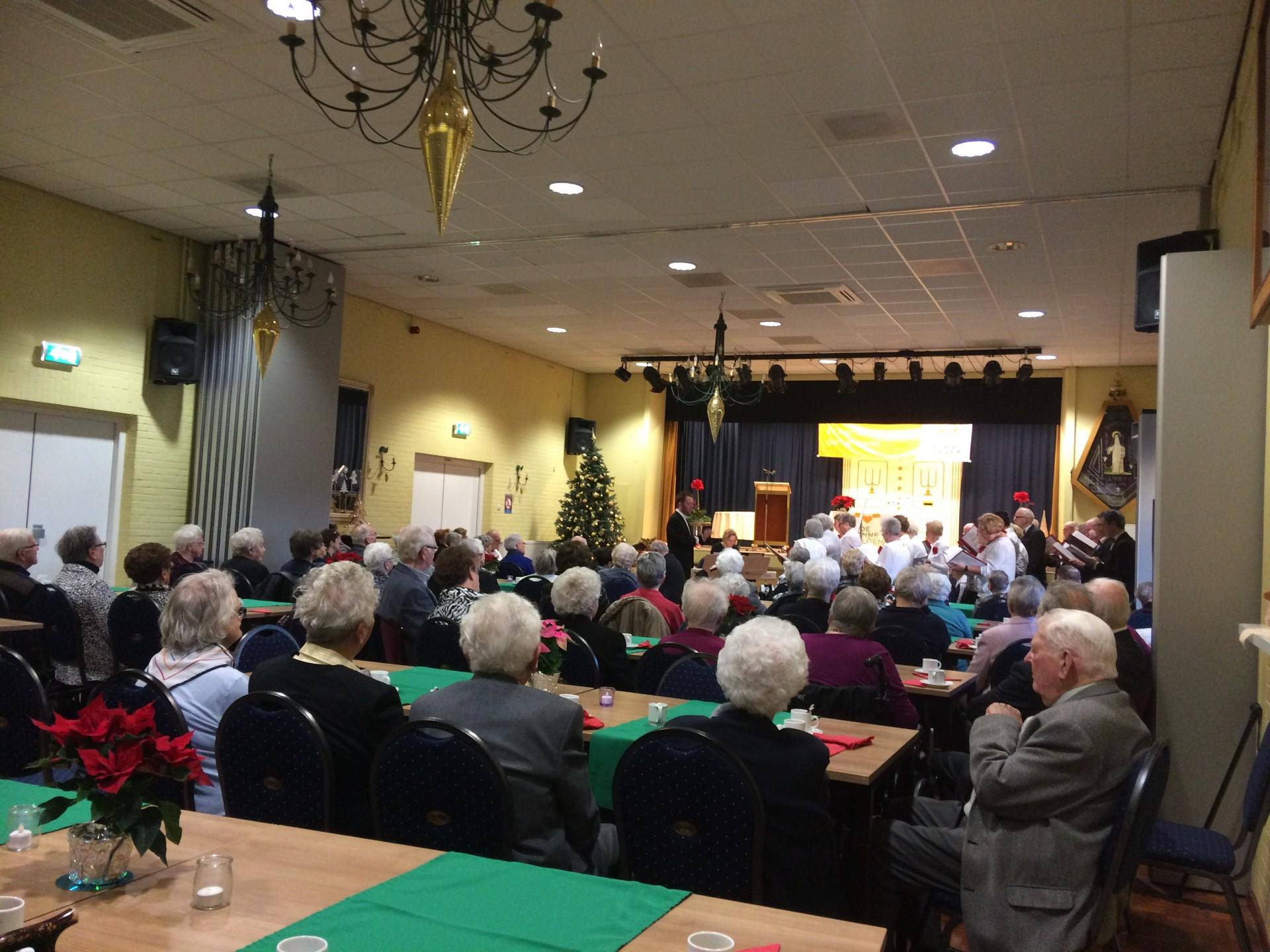 Kerstviering Zonnebloem Amby en feestmiddag in Kerstsfeer!