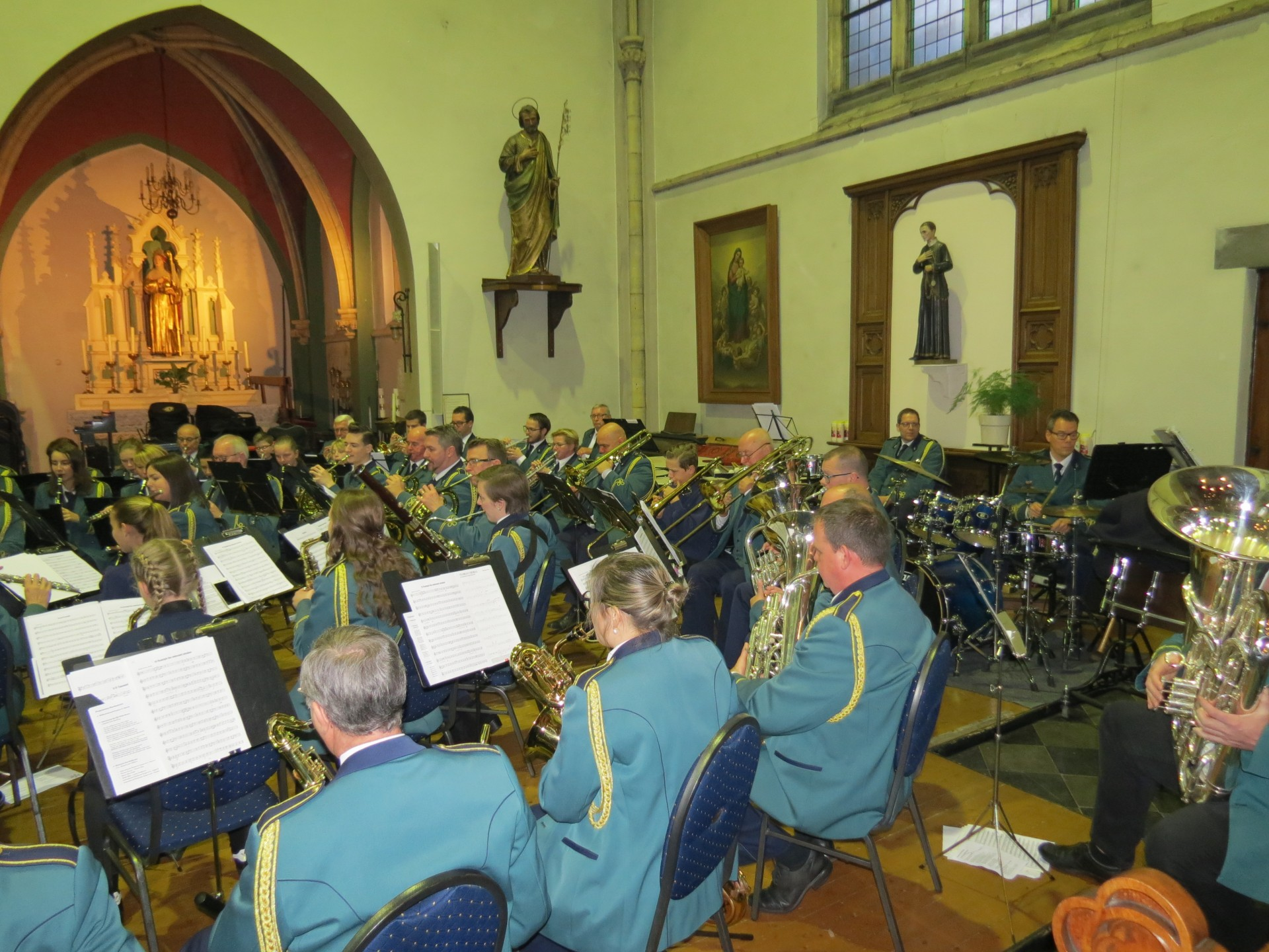 Walburga dag van de Harmonie Sint Walburga, op zaterdag 11 mei om 19:00 uur