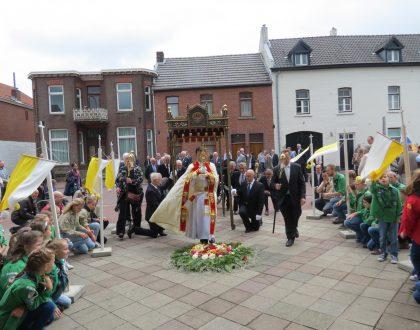 Sacramentsprocessie op zondag 7 juli a.s.