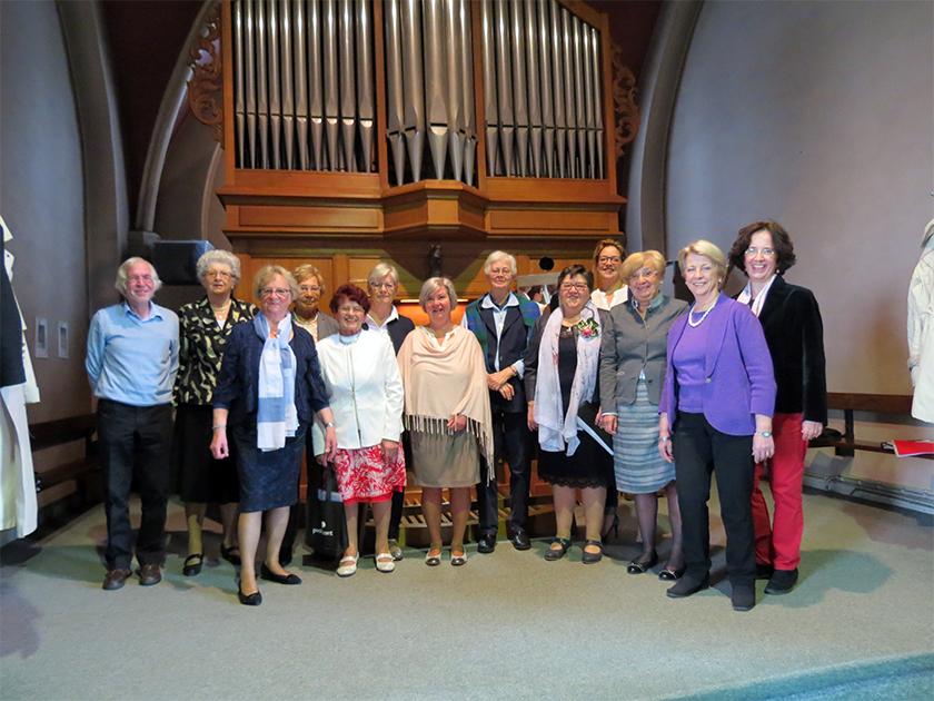Het koor Sancta Walburga viert op zondag 22 april om 11:00 uur haar 60 jarig bestaan.