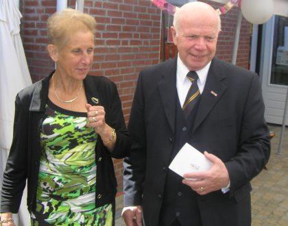 Op zondag 26 mei om 11:00 uur. De gouden huwelijksviering van Dhr.Piet Keijmis en Mevr. Tiny Keijmis
