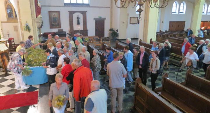 Donderdag 19 augustus om 19:00 uur H. Mis, Maria ten Hemelopneming en Zegening Kroedwusj. Na de viering uitdelen kroedwusj